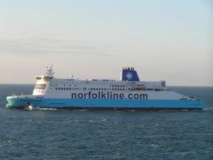 Ferry naar Engeland